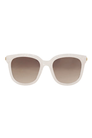 Pearlescent Glasses - Ivory