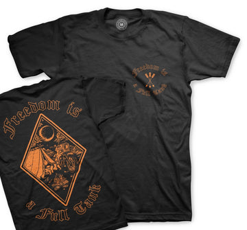Camp Freedom Tee - Harley Orange **Limited Stock**