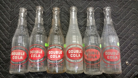 Double Cola Lot of 6 Bottles - Seminole Flavor - Chattanooga, Tennessee - Old & Original
