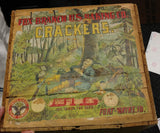 "Fox ""Takes The Cake"" Wood Cracker Crate - Fox Bakery, Ft. Wayne, Indiana - Turn of The Century"
