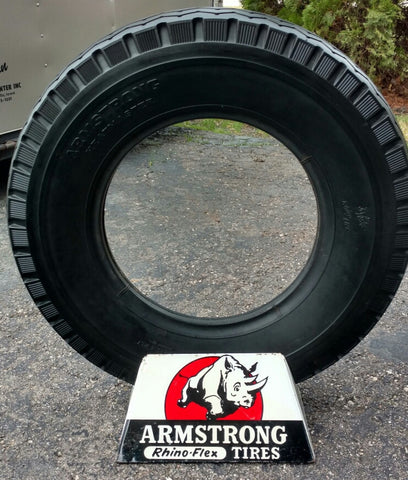 Armstrong Rhino-Flex NOS Tire And Metal Sign Stand