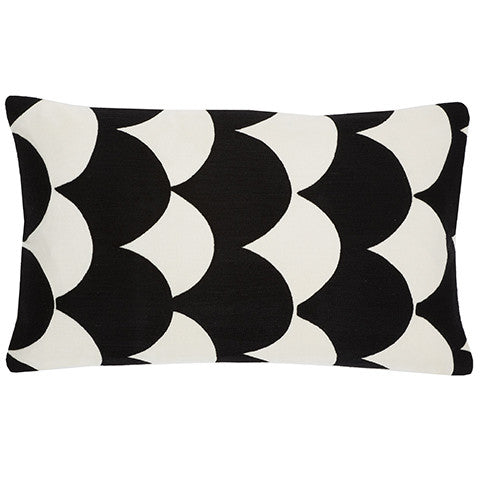 Black Uzbek 12x20 cushion