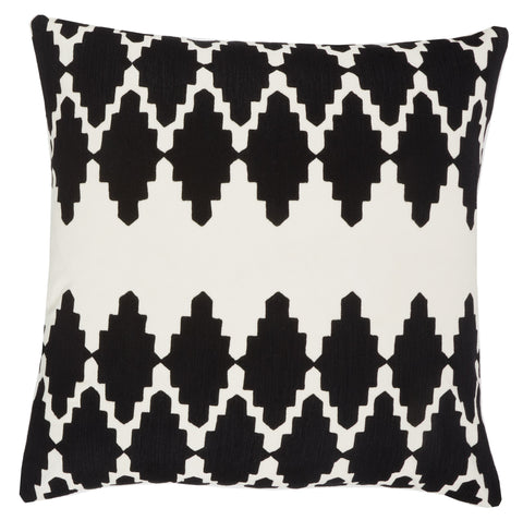Black Diamond, size 22x22in, cushion
