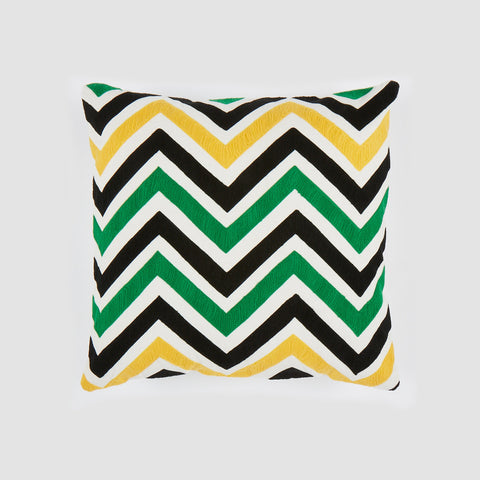 Chana Green 18x18 cushion