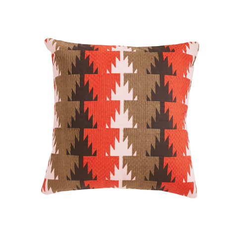Fala Orange 18x18 cushion