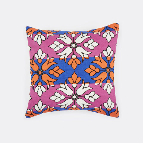 Flower Diamond Pink 18x18 cushion