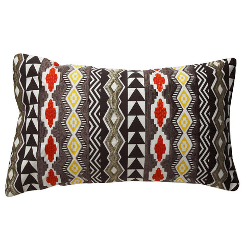Agra orange 12x20 cushion