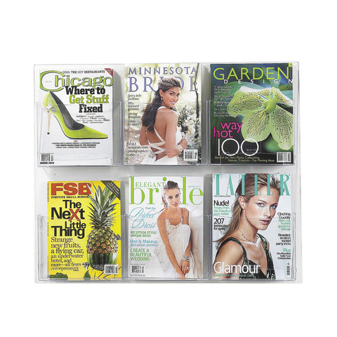 Clear2c™ 6 Magazine Display