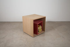 VENEER 0015 - Cube inside a cube Side Table