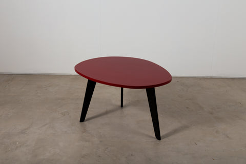 A lacquered table