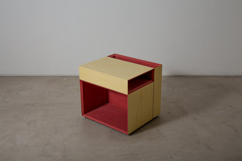 VENEER 0013 - Coloured Side Table