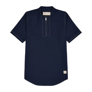 Navy Ocean Slim Fit T-shirt