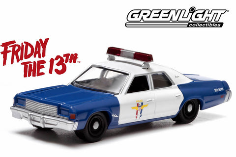 Friday the 13th (1980) - 1977 Dodge Royal Monaco w/Mrs.Voorhees figure