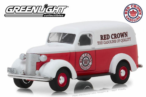 1939 Chevrolet Panel Truck / Red Crown Gasoline