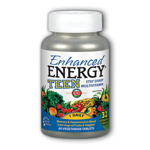Enhanced Energy Teen Complete - 60 Vegetarian Tablets
