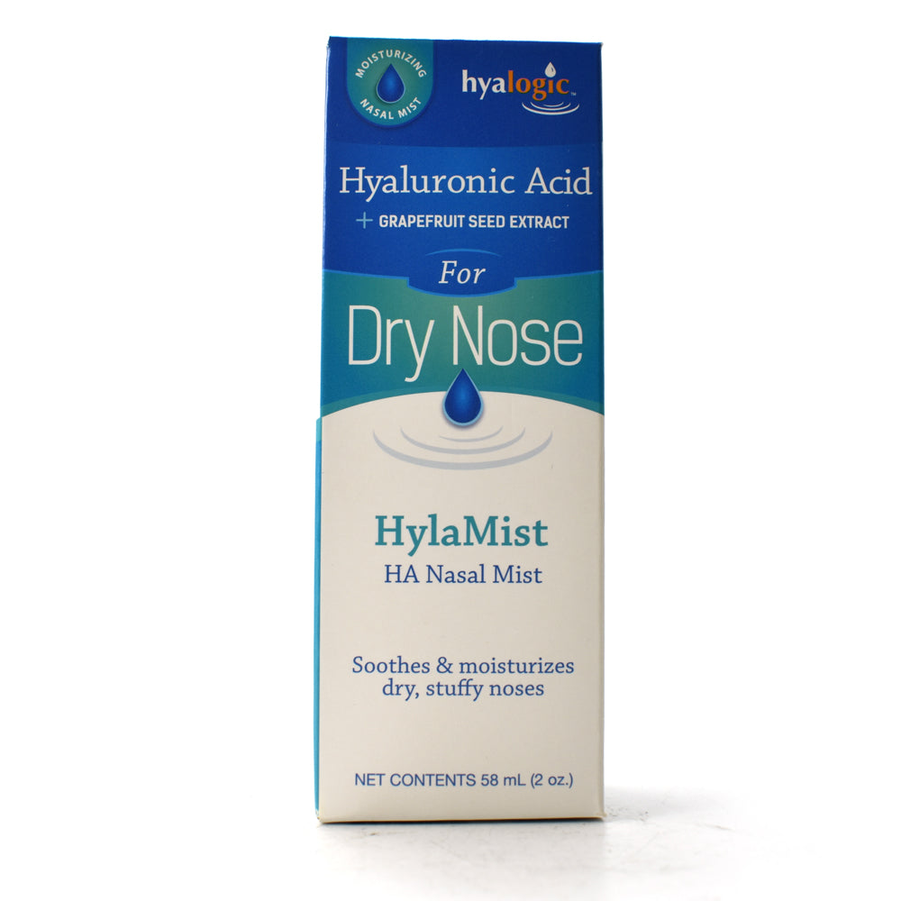 HylaMist for Dry Nose with Hyaluronic Acid plus Grapefruit Seed Extract - 2 oz
