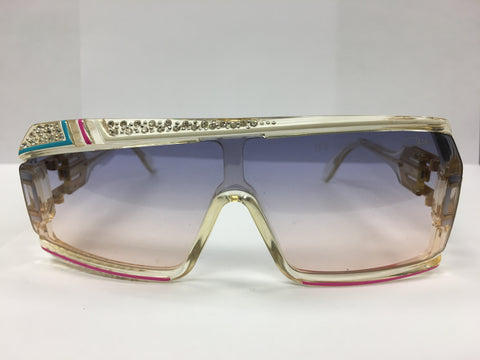 Vintage Cazal sunglasses Mod 858 Col 255 with Jewels