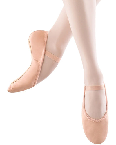Bloch Dansoft Leather Full Sole Ballet Slippers - S0205L Womens - Dance Shoes - Ballet Slippers - Dancewear Centre Canada