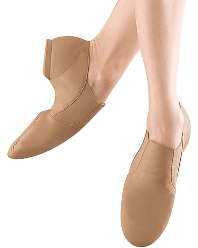 Bloch Elasta Bootie Slip On Leather Jazz Shoes - S0499L Womens - Dance Shoes - Jazz Shoes - Dancewear Centre Canada