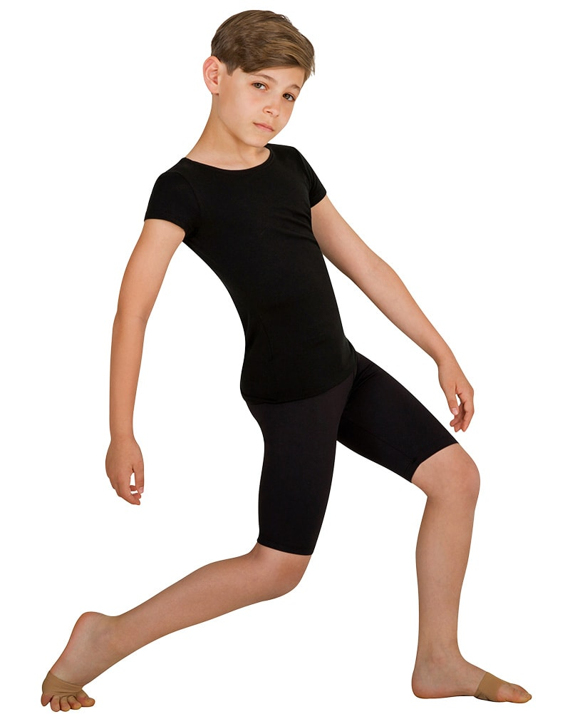 Body Wrappers B196 - Prowear Above The Knee Bike Shorts Boys