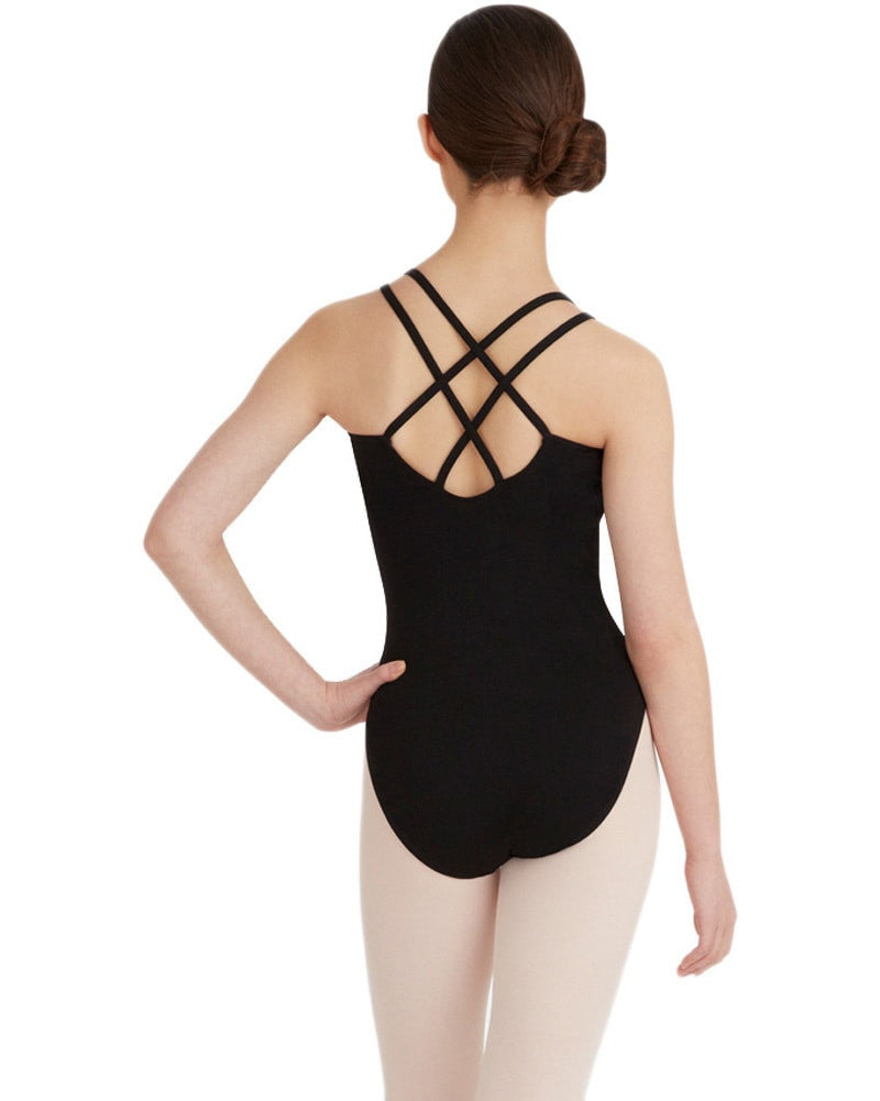 Capezio CC123 - Double Strap Cross Back Camisole Leotard Womens