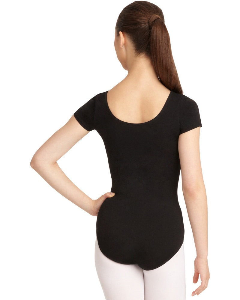 Capezio CC400 - Classic Cotton Short Sleeve Leotard Womens