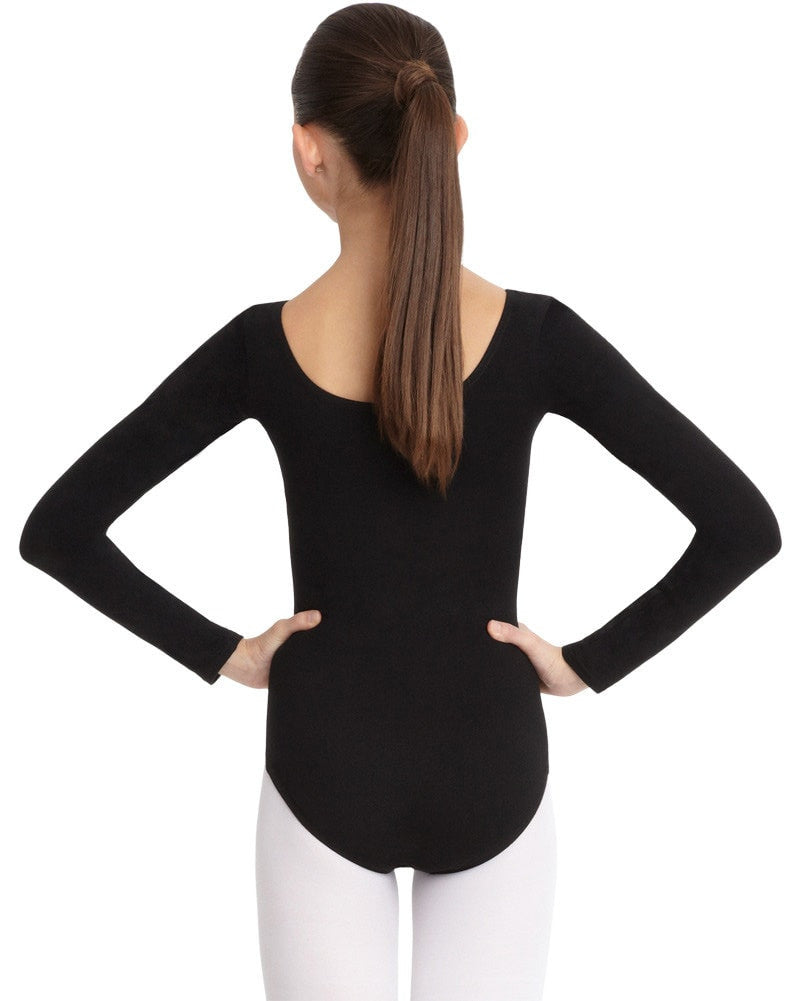 Capezio CC450C - Classic Cotton Long Sleeve Leotard Girls