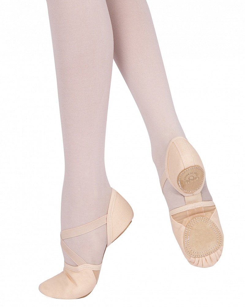 Grishko Model 10 Stretch Arch Canvas Split Sole Ballet Slippers - 1010C Womens - Dance Shoes - Ballet Slippers - Dancewear Centre Canada