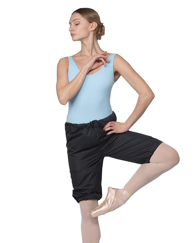 Grishko 3311 - Rip Stop Dance Warm Up Shorts Womens - Dancewear - Bottoms - Dancewear Centre Canada