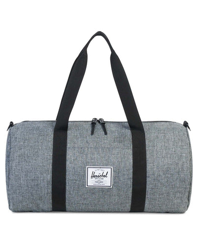 Herschel Supply Co Sutton Mid Volume Duffle - Raven Crosshatch/Black - Accessories - Dance Bags - Dancewear Centre Canada