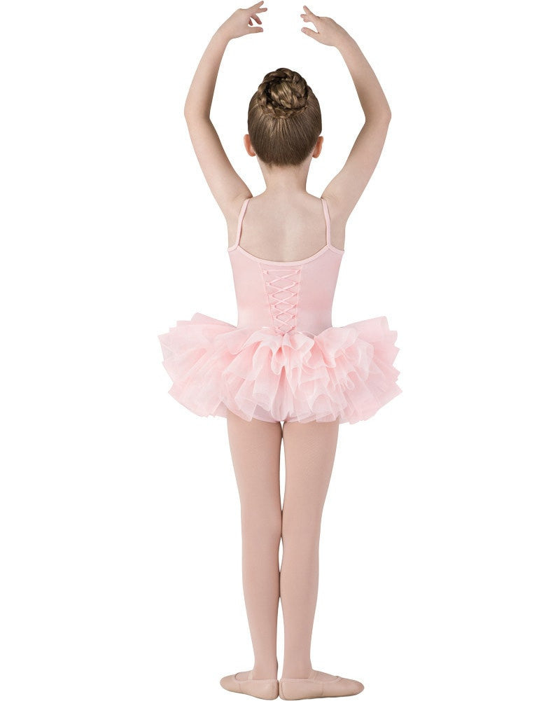 Mirella M222C - Sparkle Tutu Camisole Ballet Dress Girls