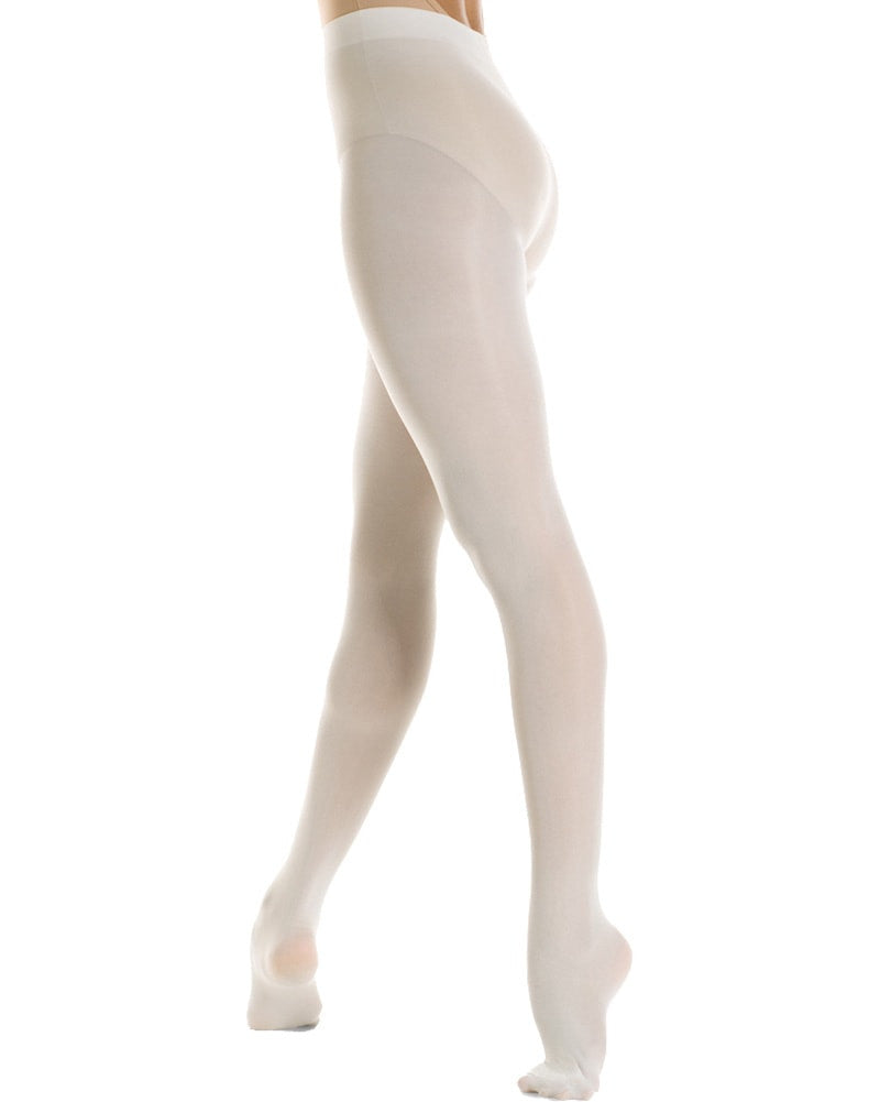 Mondor Microfibre Performance Footed Dance Tights - 310C Girls