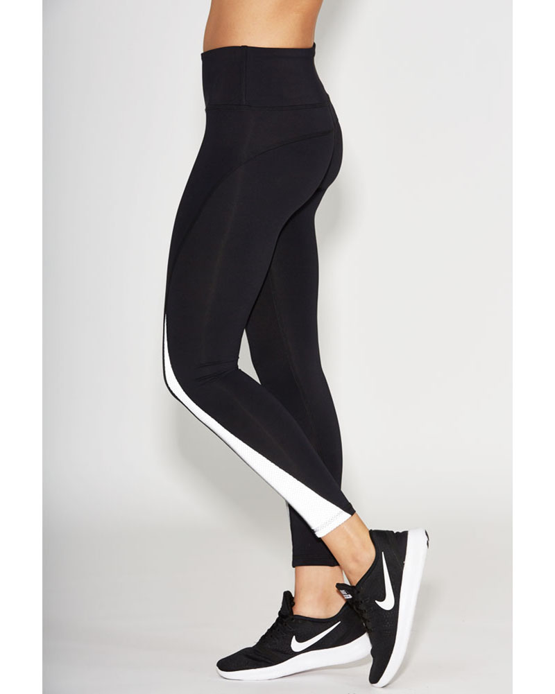 Noli Luna Glass Legging - Womens - Black/White