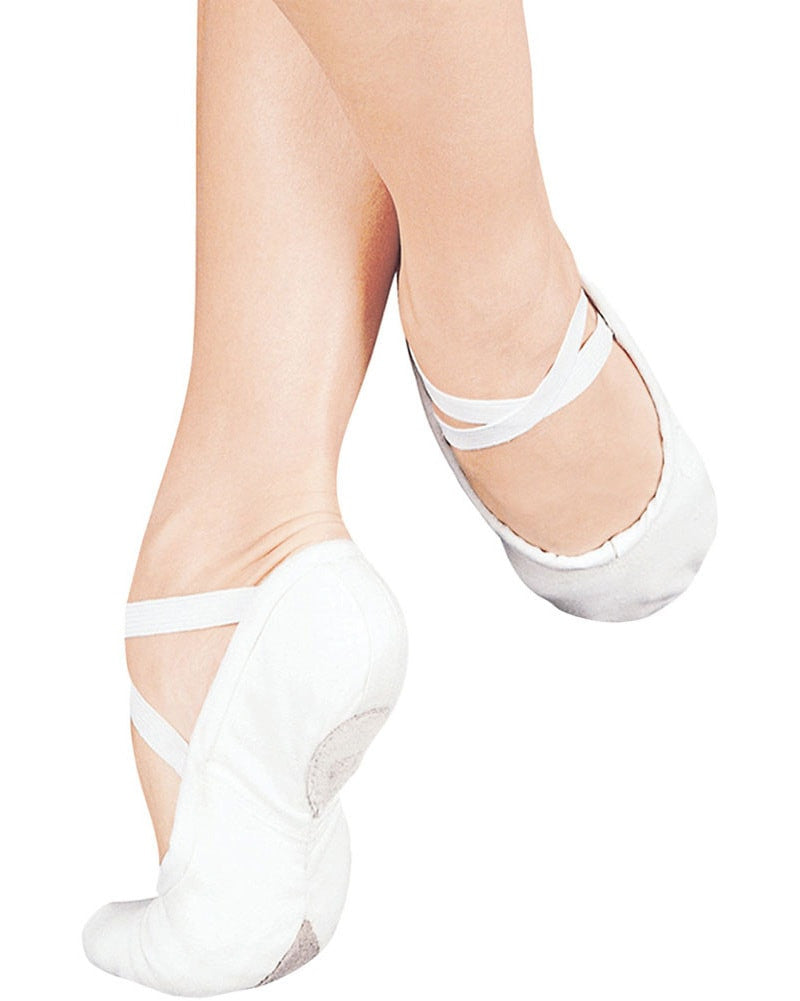 Sansha Pro Canvas Split Sole Ballet Slippers - 1C Womens/Mens