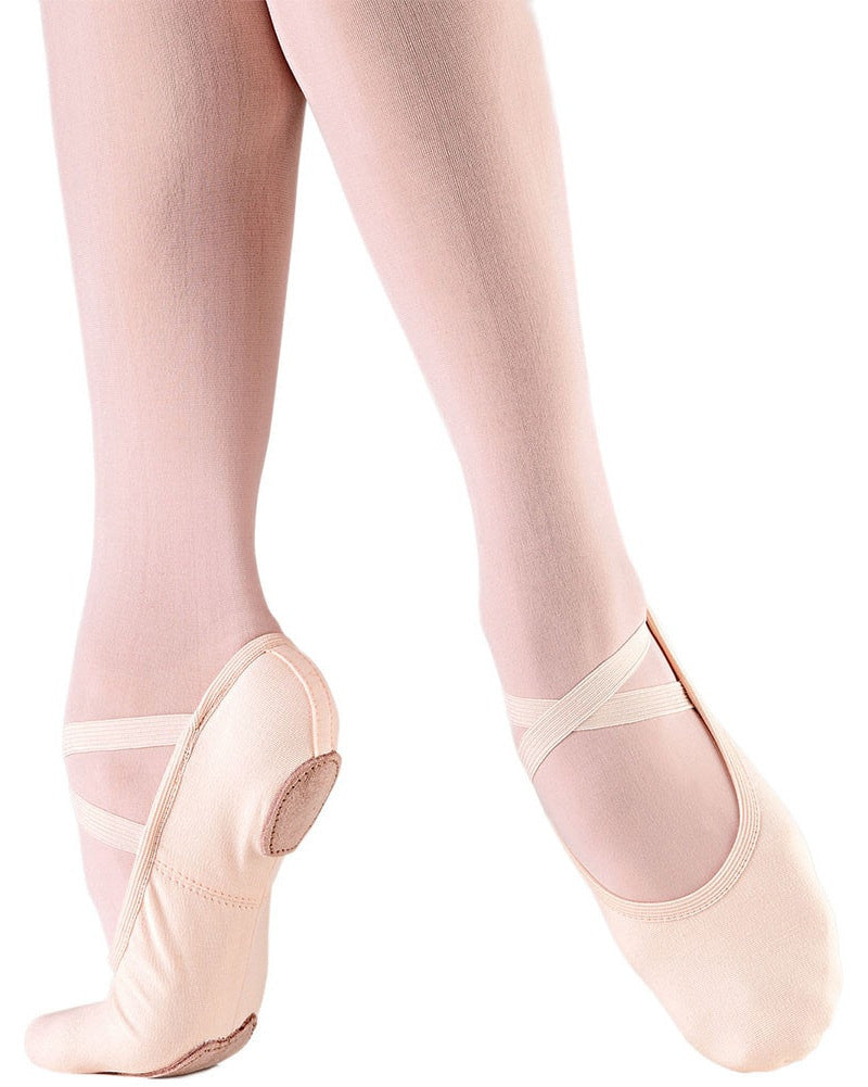 So Danca Bliss Stretch Canvas Split Sole Ballet Slippers - SD16S Girls