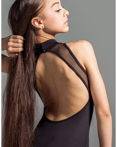 Suffolk High Street Turtleneck Sleeveless Leotard - 2005C Girls - Dancewear - Bodysuits & Leotards - Dancewear Centre Canada