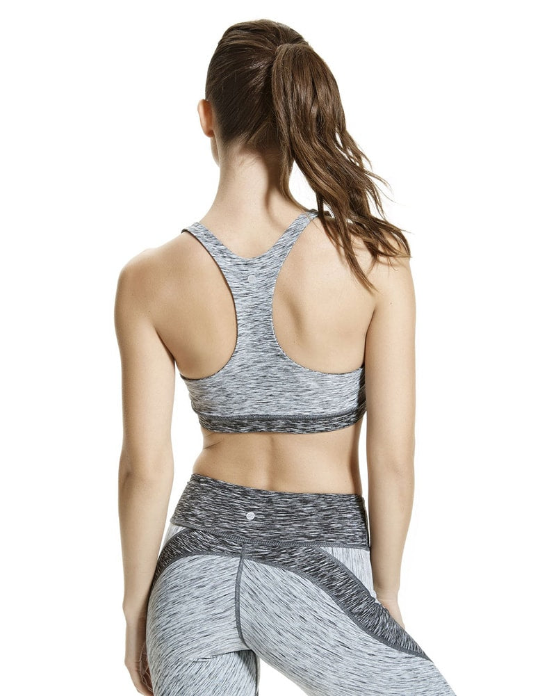 Vimmia Maneuver Reversible Bra - Womens - Charcoal