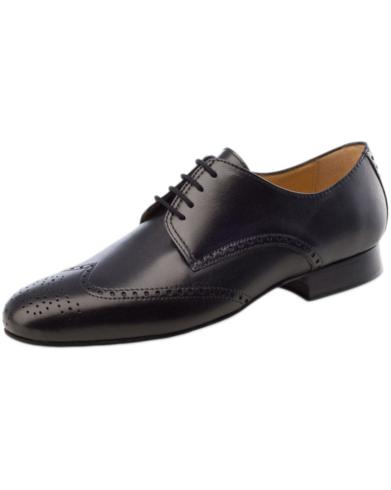 Werner Kern Wing Tip Nappa Leather Oxford Ballroom Shoes - 6642 Mens