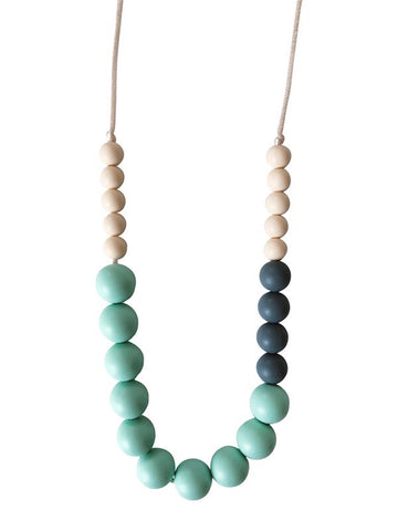 The Livi- Mint Teething Necklace