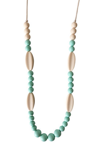 The Audrina Teething Necklace