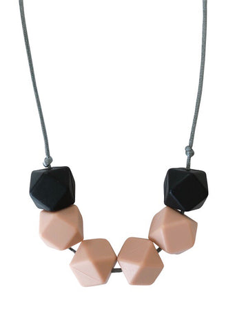 The Jameson- Nude Teething Necklace