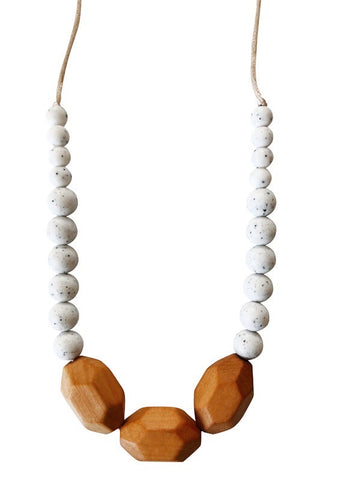 The Austin- Moonstone Teething Necklace