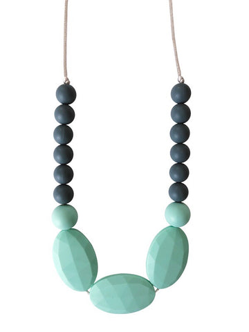 The Hudson- Mint Teething Necklace