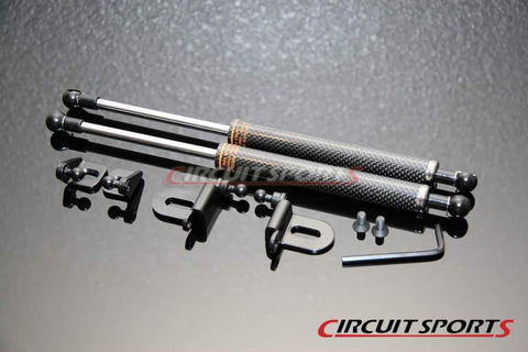 Engine Hood Damper - Infiniti G35/V35 Coupe - Carbon