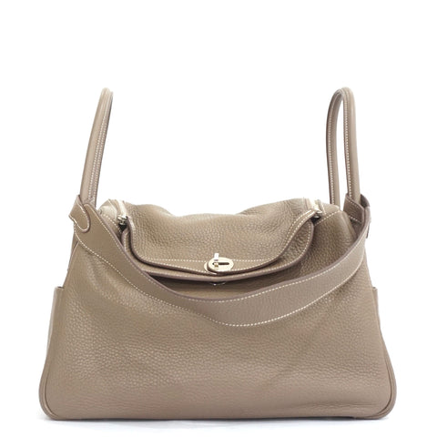 Hermes Lindy 34 Etoupe Clemence PHW