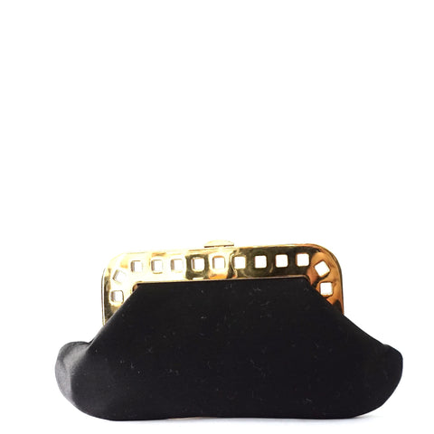 Charlotte Olympia Satin Clutch