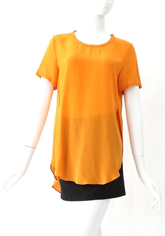 3.1 Phillip Lim Orange Top 0