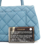 Chanel Blue Mini Coco Handle