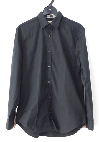 Burberry Black Long Sleeves Shirt 38