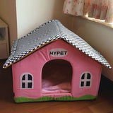 Dog Kennel Newly Design Soft Fleece Warm Dog Bed House Plush Nest Mat Pad For Pets Puppy Cats  GP160309-4